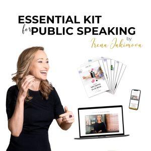 essential kit for public speaking_irena_jakimova